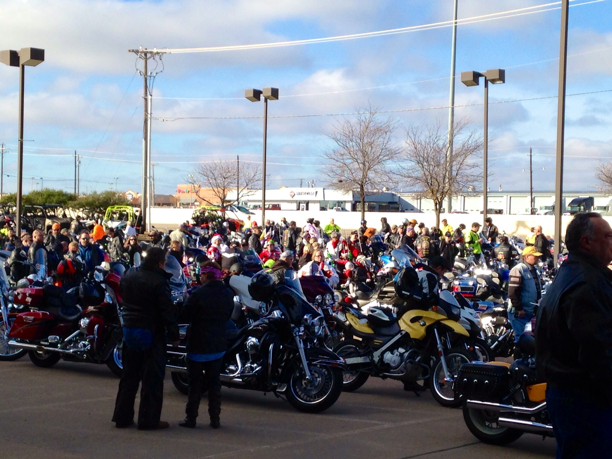 Toys For Tots Motorcycle Run : Saturday with santa the marines and dfw toys for