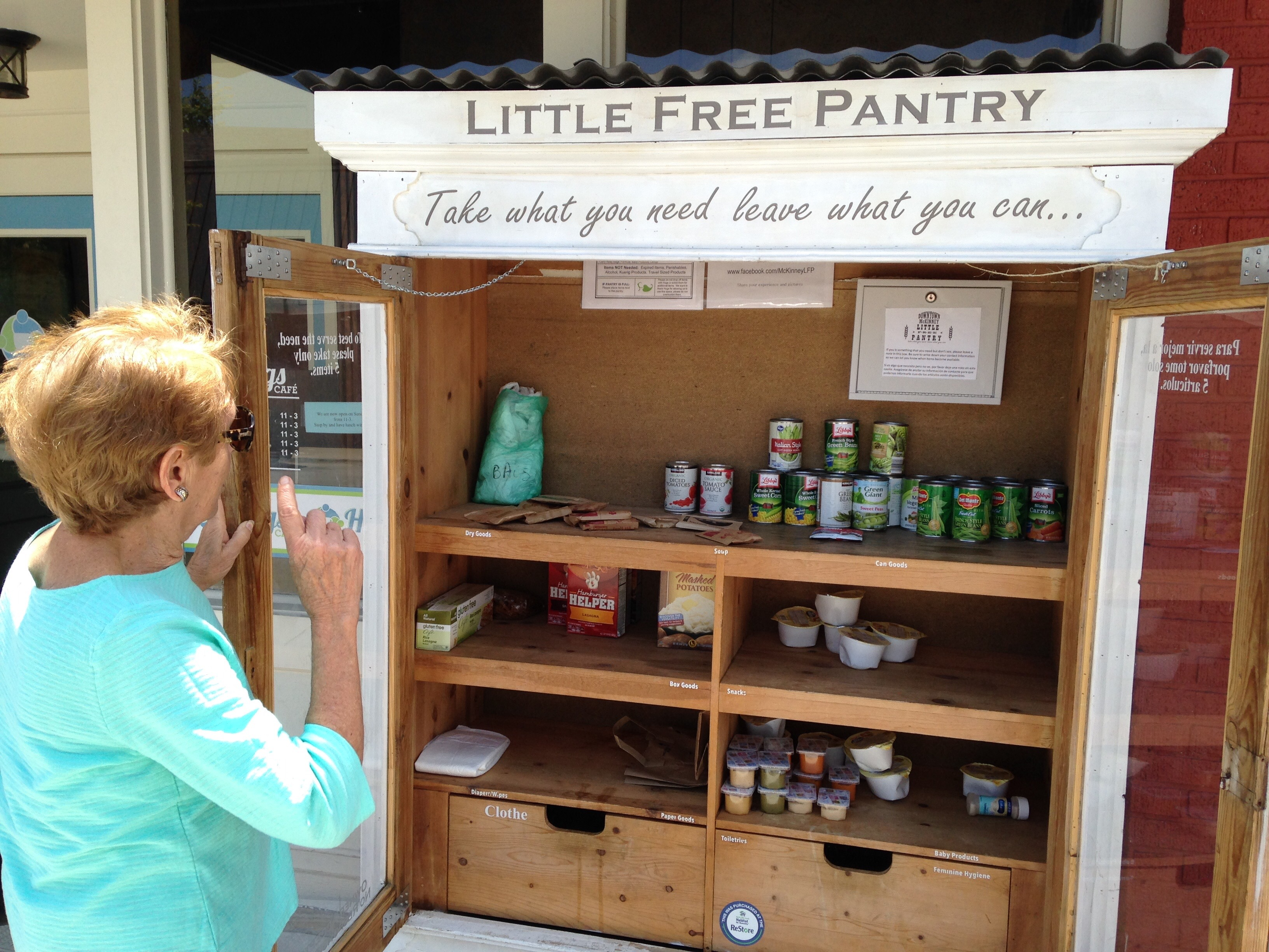 Mckinney Food Pantry Hugs